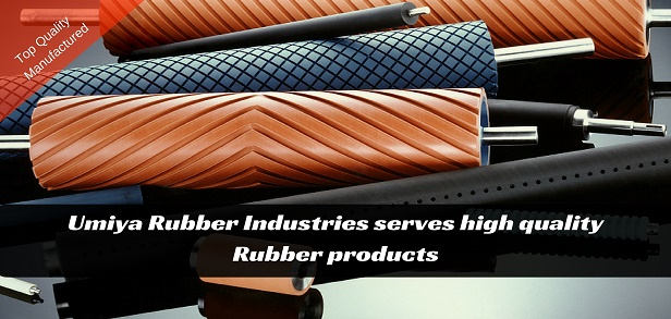 Quality Rubber Roller Manufacturer Ahmedabad India