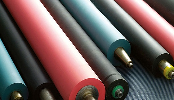 Rubber Roller, Rubber Roller Manufacturer, silicon rubber rollers, India